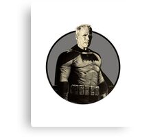 Bat Eastwood Canvas Print