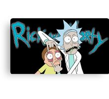 """Rick and Morty """"Look Morty"""" Version II Canvas Print"""