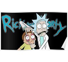 """Rick and Morty """"Look Morty"""" Version II Poster"""