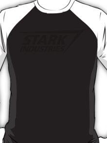 Stark Industries-Black T-Shirt
