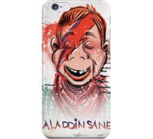 Howdy, Bowie, Art, Howdy Doody, David Bowie, Aladdin Sane, Ziggy Stardust, Illustration, Poster, Picture, puppet, marionette, children's, child, tv show, David Robert Jones, joe badon iPhone Case/Skin