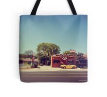 A Cool Yellow Car Tote Bag
