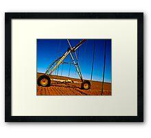 The Texas Plains Framed Print