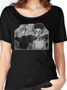Corpse Bride of Frankenstein Women's Relaxed Fit T-Shirt