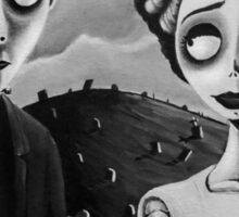 Corpse Bride of Frankenstein Sticker