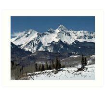 San Juan mountains, Colorado Art Print