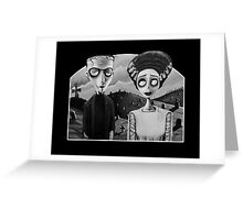 Corpse Bride of Frankenstein Greeting Card