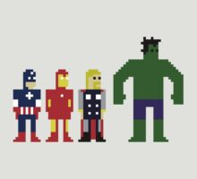 Pixel Avengers by Bionivision