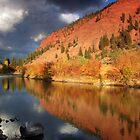 Eagle River Reflection by Steve  Taylor