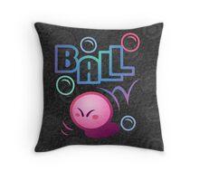 Kirby Ball Throw Pillow