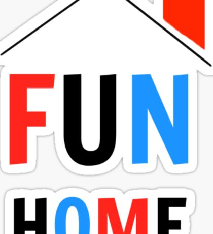 Fun Home Logo Sticker