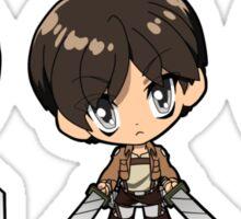 Attack on Titan - Armin, Eren, and Mikasa Sticker
