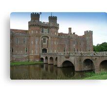 Herstmonceux Castle-England © Canvas Print