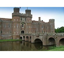 Herstmonceux Castle-England © Photographic Print
