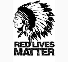 RED LIVES MATTER T-Shirt