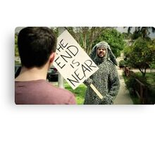 Wilfred: The End is Near Canvas Print
