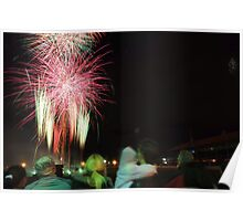 Fireworks - Royal Adelaide Show Poster