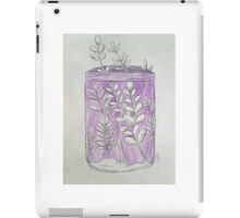Plants in a jar  iPad Case/Skin
