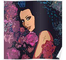 Stella's Rose Garden Poster