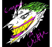 The Joker - Everyone's a Critic Photographic Print