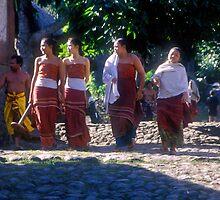 Bali Chorus Line by Christina Backus