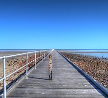 Port Germein Jetty by Jack Marr