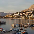 Late Afternoon Light over the Marina. Kalymnos by lindart48