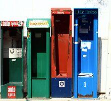 Newsstands by Ian Mac