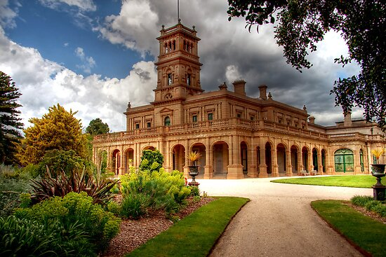 Werribee Mansion by Christine Smith