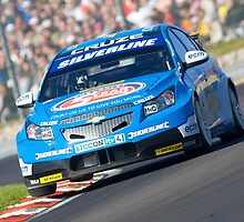 BTCC Champion Jason Plato @ Paddock Hill by Mark Greenwood