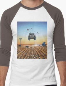 Are We There Yet?! Moonie. Men's Baseball ¾ T-Shirt