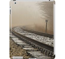 Foggy day in the woods....it won't be long until I'm coming home  iPad Case/Skin