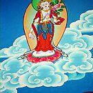 goddess. gangtok - sikkim by tim buckley   bodhiimages