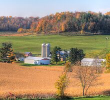 Autumn in Wisconsin by ECH52