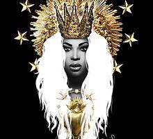 Saint Beyonce by Devis Pederzini