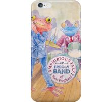 Froggy Band iPhone Case/Skin