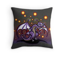 Bahamut FF4 Throw Pillow