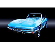 1964 Corvette Stingray Convertible Photographic Print