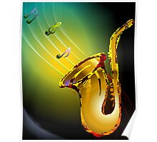 Enchanting music delivered by Bugle instrument Poster