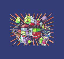 Neon Cubes Unisex T-Shirt