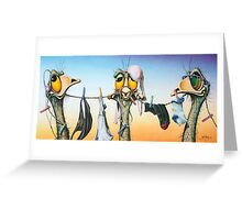 Hear No Evil, Speak No Evil, See No Evil Greeting Card