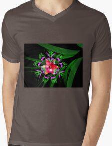 Paradise Blossom Mens V-Neck T-Shirt