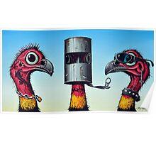 Outlaw Bush Turkeys Poster