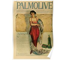 Advertisements Photoplay Magazine April through September 1918  0756 Palmolive Poster