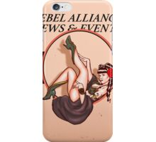 Pin upped Princess Leia  iPhone Case/Skin
