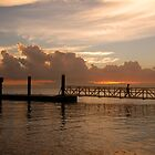 Bongaree Jetty - Bribie Island by Barbara Burkhardt