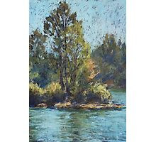 Hastings River, Rocks Ferry  - paint out Photographic Print