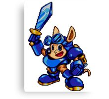Rocket Knight - SEGA Genesis Sprite Canvas Print