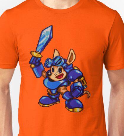 Rocket Knight - SEGA Genesis Sprite Unisex T-Shirt