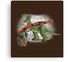 Jurassic Toy Canvas Print